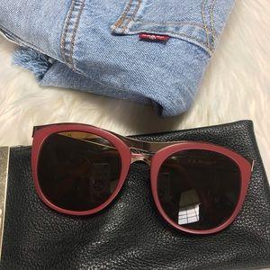 AJ MORGAN- Cat Eye Fuchsia Sunglasses